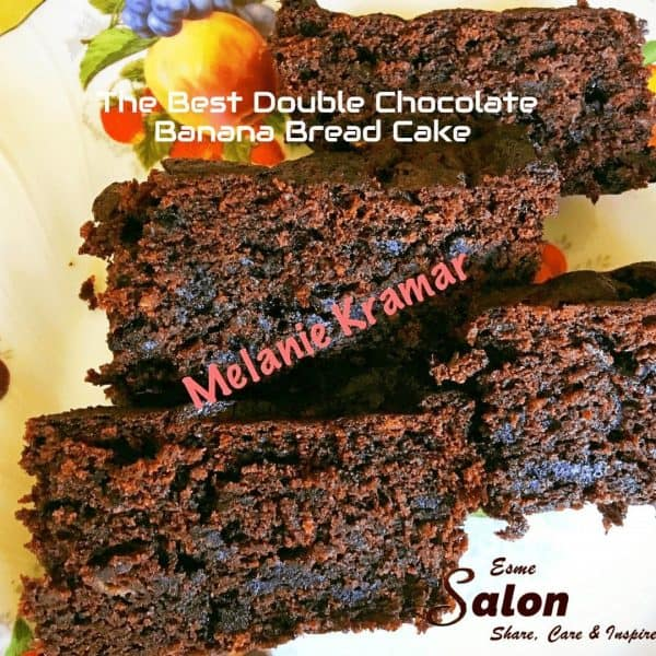 The Best Double Chocolate Banana Bread Cake