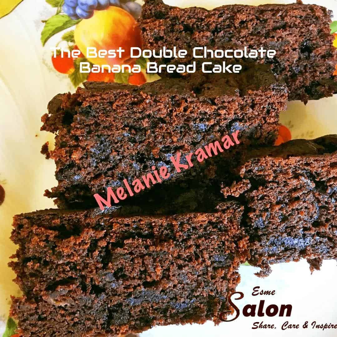 The Best Double Chocolate Banana Bread Cake