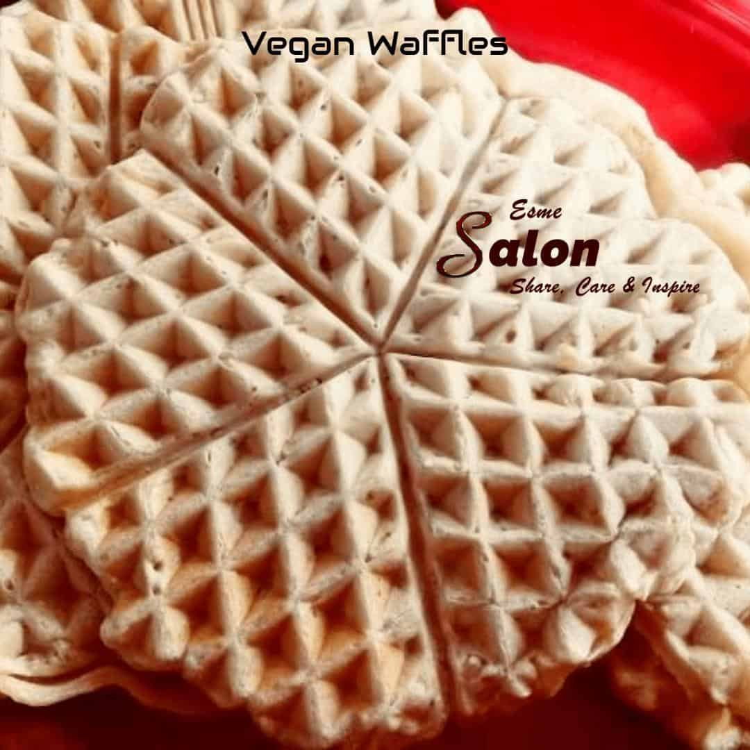 Most Delicious Best Vegan Waffles