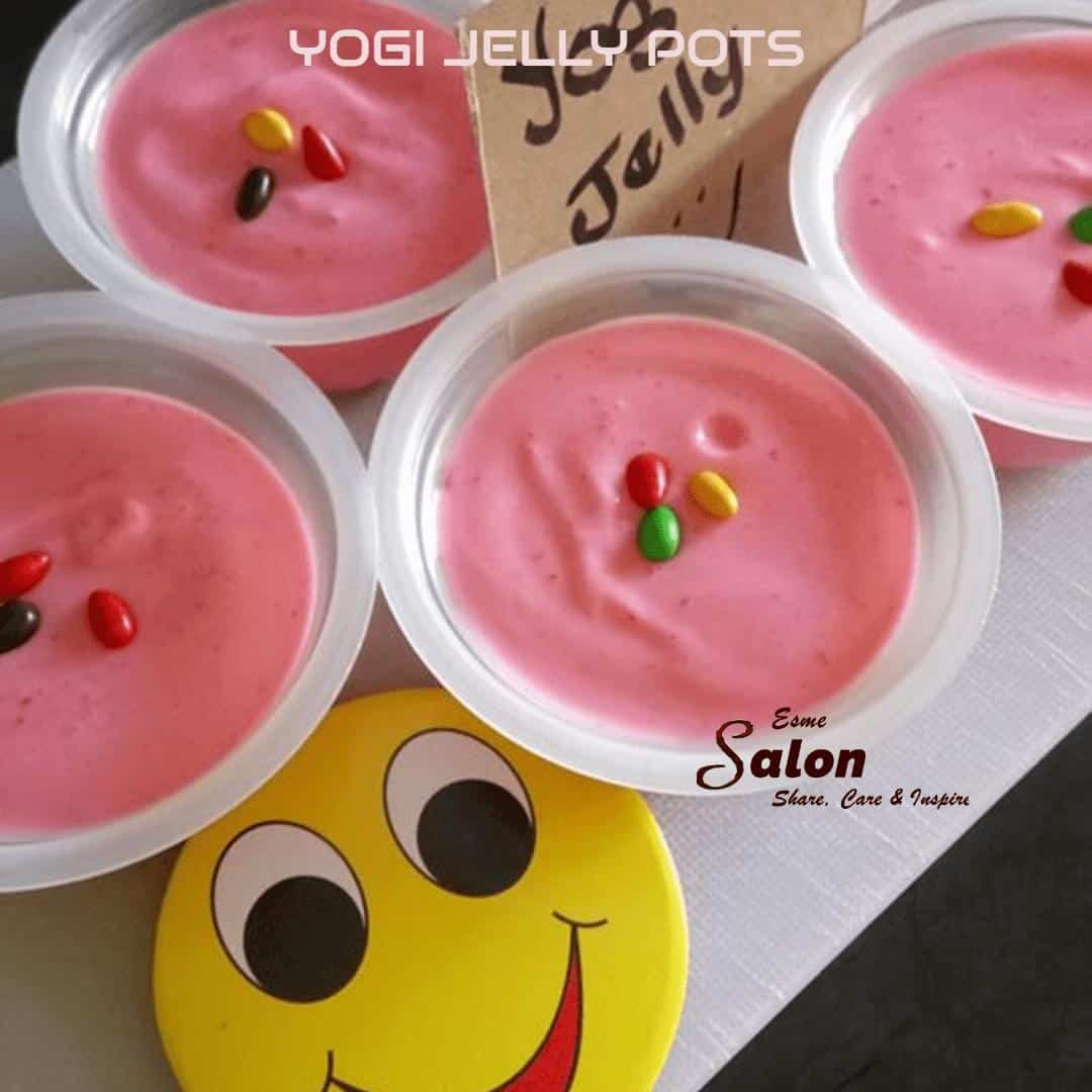 Make Yogi Jelly Pots for children of all ages