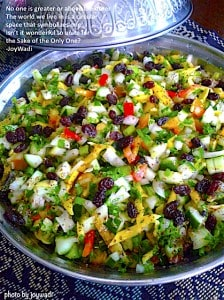 Guest Post - Cucumber Salad