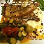 Grilled Pork Chops and German Mashed Potato