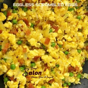 EGGLESS SCRAMBLED EGGS
