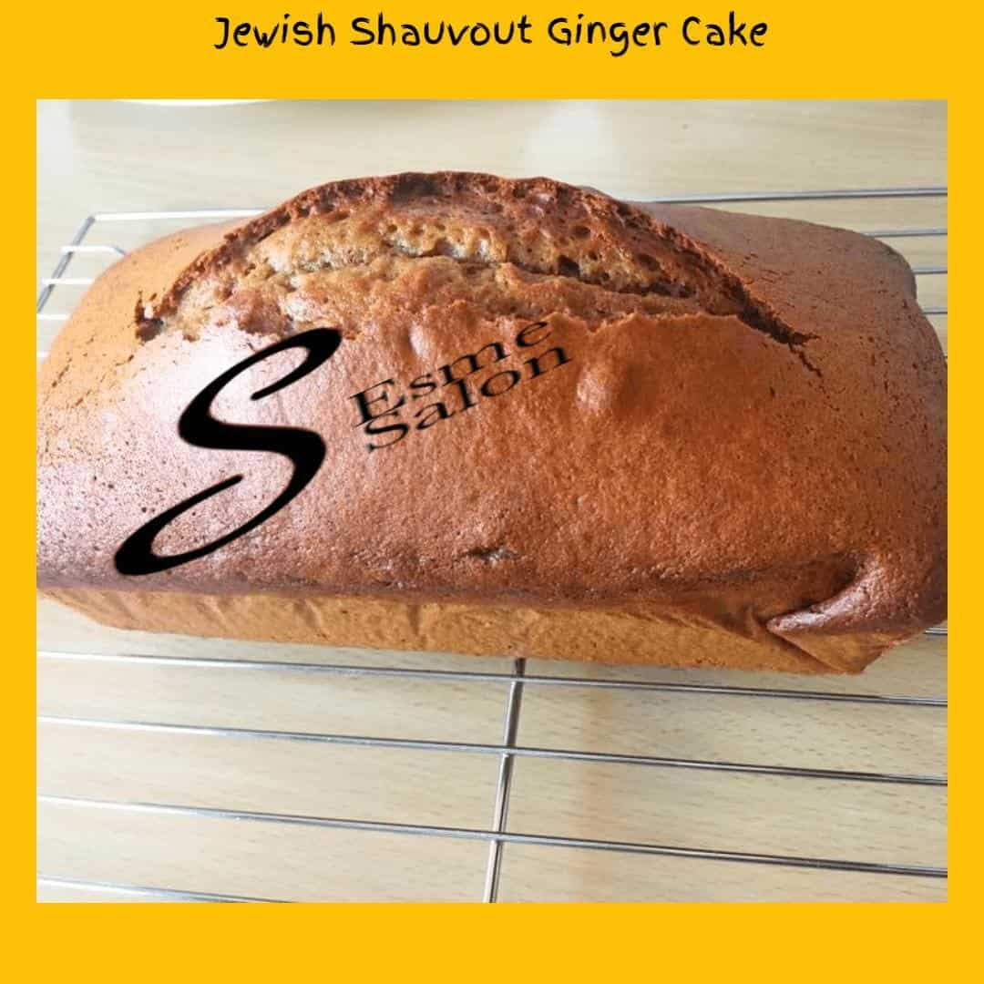 Jewish Shauvout Ginger Cake