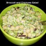 Broccoli and Chickpea Salad