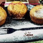 Eggless wheat flour banana muffins