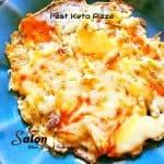 Fast Keto Pizza