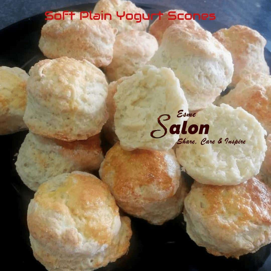 Soft Plain Yogurt Scones