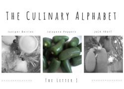 The Culinary Alphabet…The Letter J..