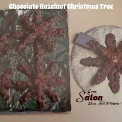 Chocolate Hazelnut Christmas Tree Design