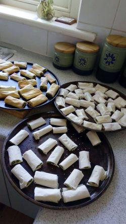 Asparagus Feta Rolls