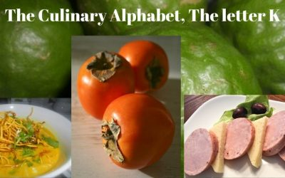 The Culinary Alphabet. The letter K