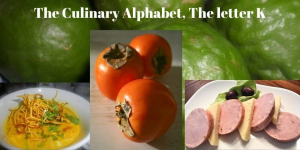 The Culinary Alphabet, The letter K