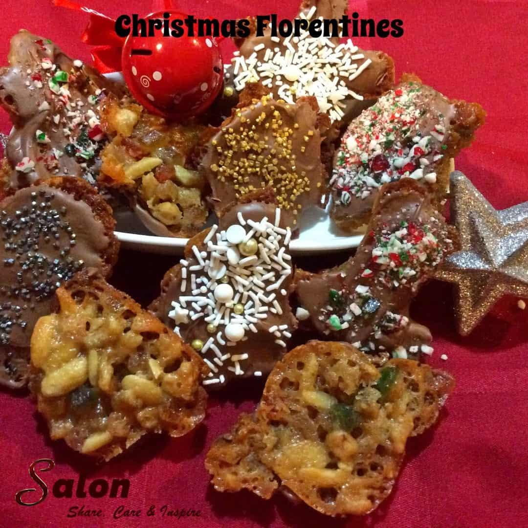 Gluten Free Christmas Florentines