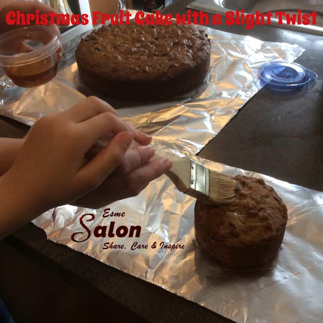 Christmas Fruit Cake with a Slight Twist #fruitcake #Christmas