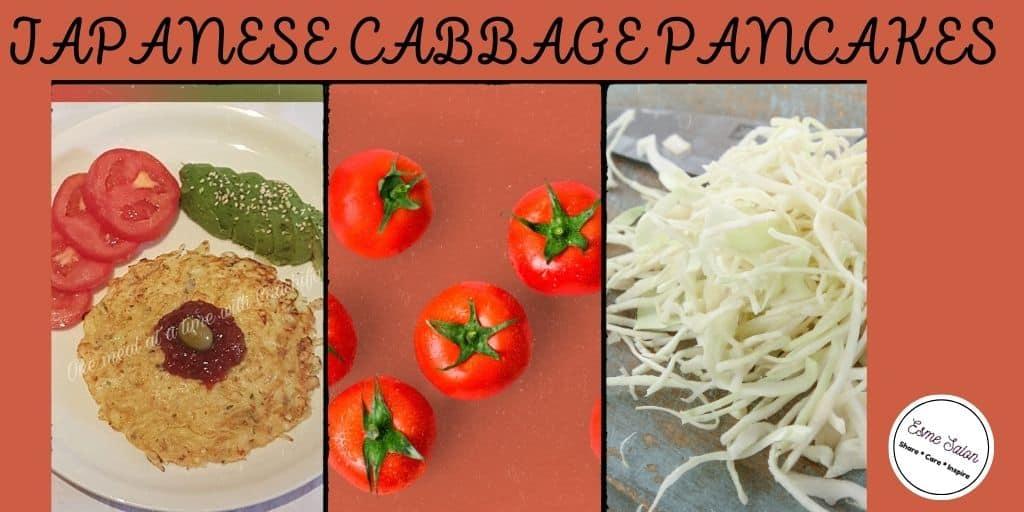 Japanese Cabbage Pancakes
