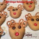 Soft Ginger Reindeer Cookies