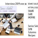 2019 EsmeSalon Interview