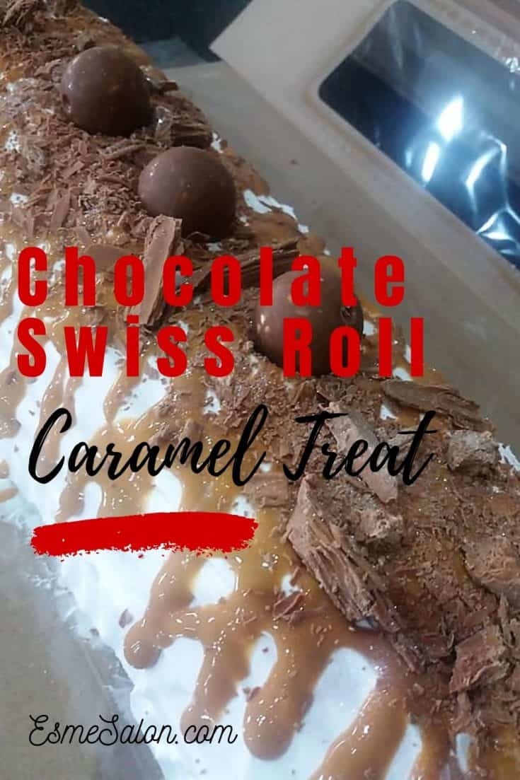 Unforgettable Chocolate Swiss Roll with Caramel Treat