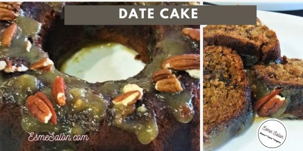 Date Cake Moist and Delicious