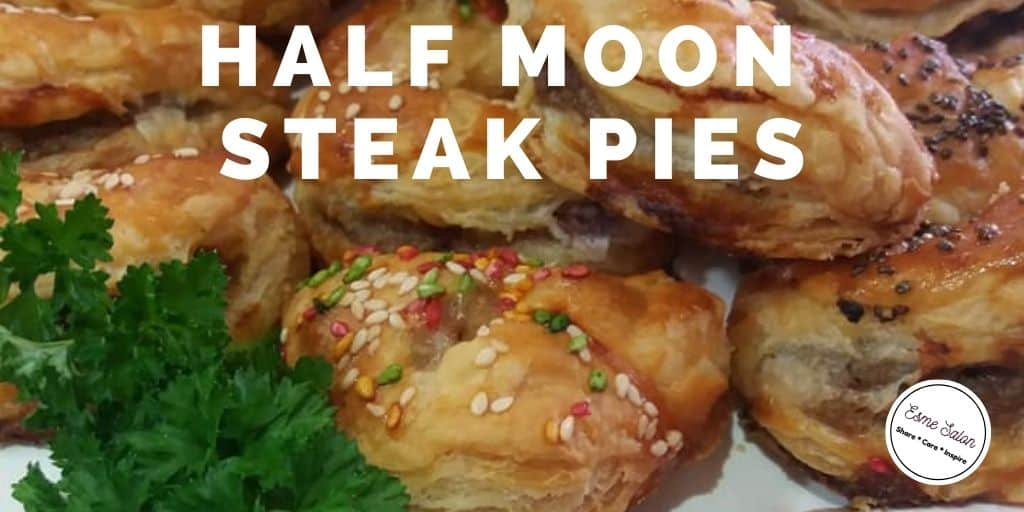 Half Moon Steak Pies