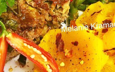 Zucchini Meatloaf & Roasted Butternut