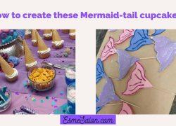 Mermaid-tail Cupcakes Decorating Tip