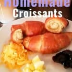 Favorite Homemade Croissants
