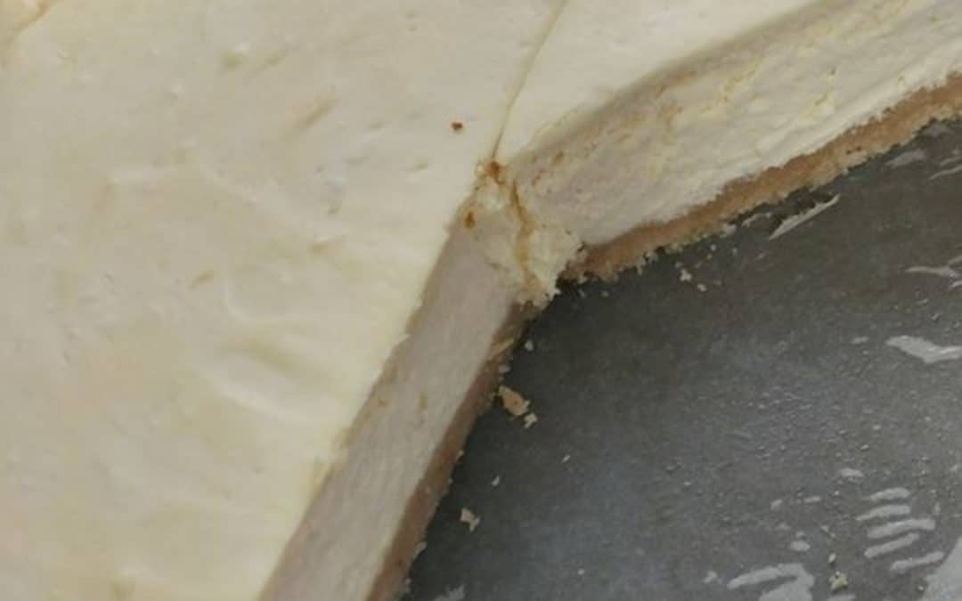 Gluten sugar-free cheesecake