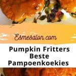 Wonderful Pumpkin Fritters in sauce