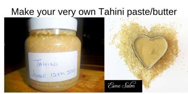 Make your very own tahini paste
