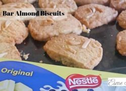Delicious Milky Bar Almond Biscuits