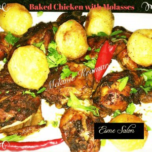Baked Chicken and Baked potatoes
