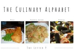The Culinary Alphabet: The Letter P