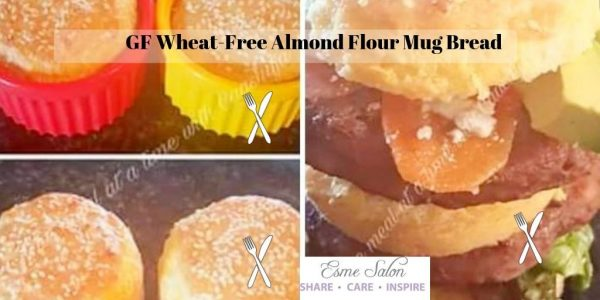 GF and Wheat-Free Almond Flour Mug Bread