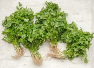 4 bunches of parsley