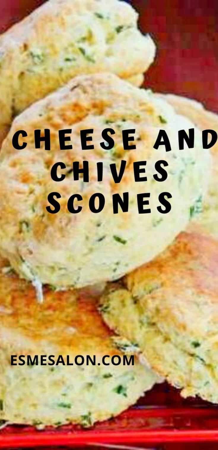 Cheese and Chives Scones