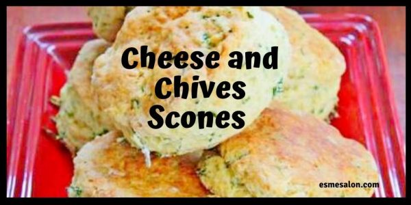 Lovely Cheese and Chives Scones