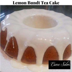 Lemon Bundt Tea Cake