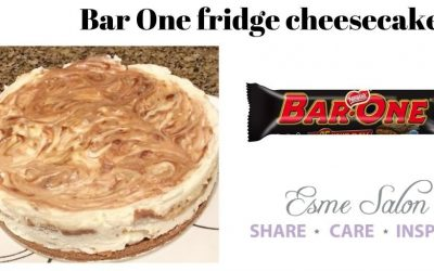 Bar One fridge cheesecake