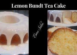 Lemon Bundt Tea Cake