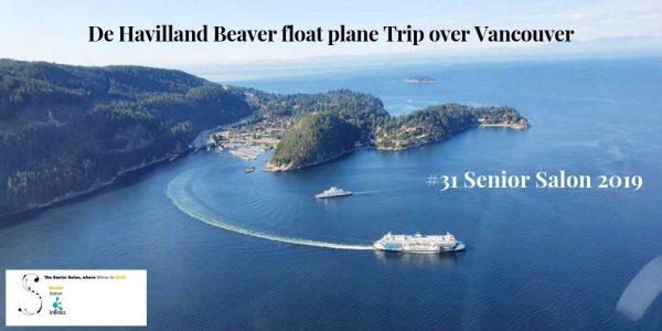 De Havilland Beaver float plane Trip over Vancouver