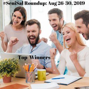 5 Ecstatic winners behind laptop