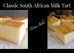 Classic South African Milk Tart