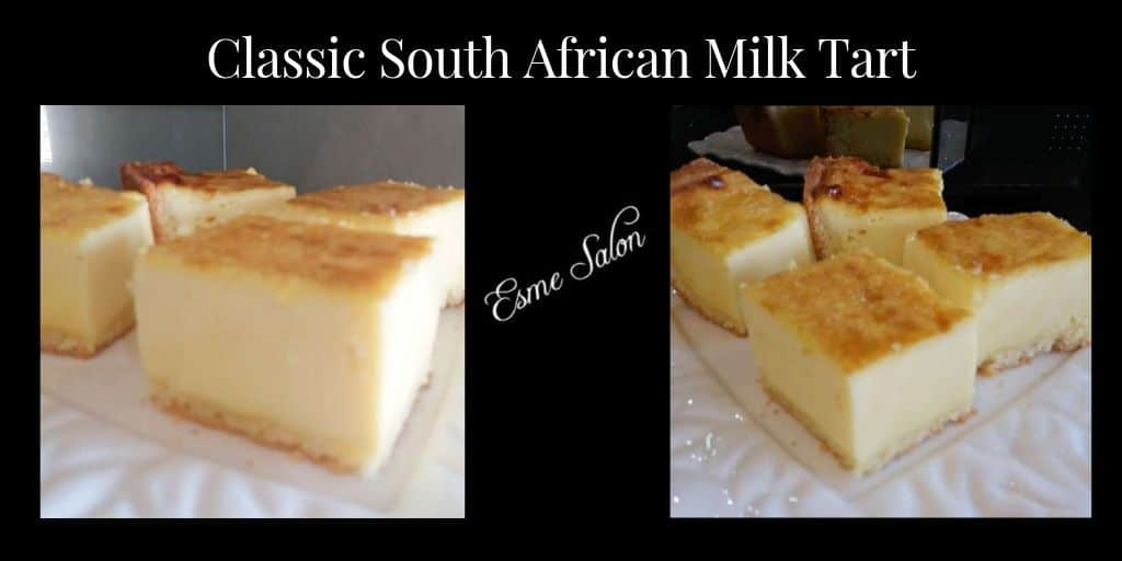 Classic South African Milk Tart
