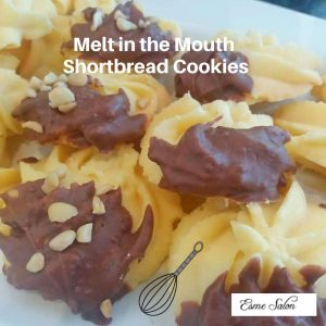 Melt in the Mouth Shortbread Cookies