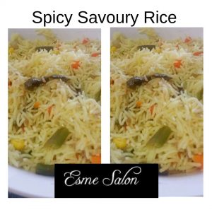 Spicy Savoury Rice