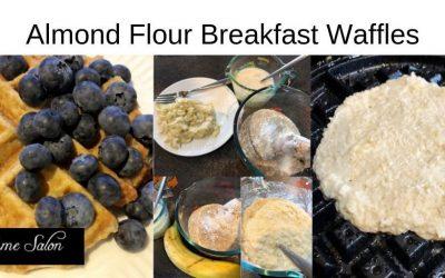Almond Flour Breakfast Waffles