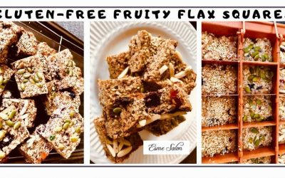 Gluten-free Fruity Flax Squares
