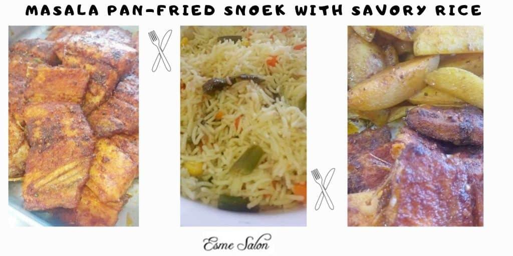 Masala Pan-Fried Snoek
